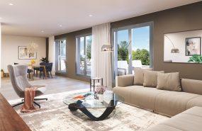 Programme immobilier NWI2 appartement à Grigny (69520) Centre Ville