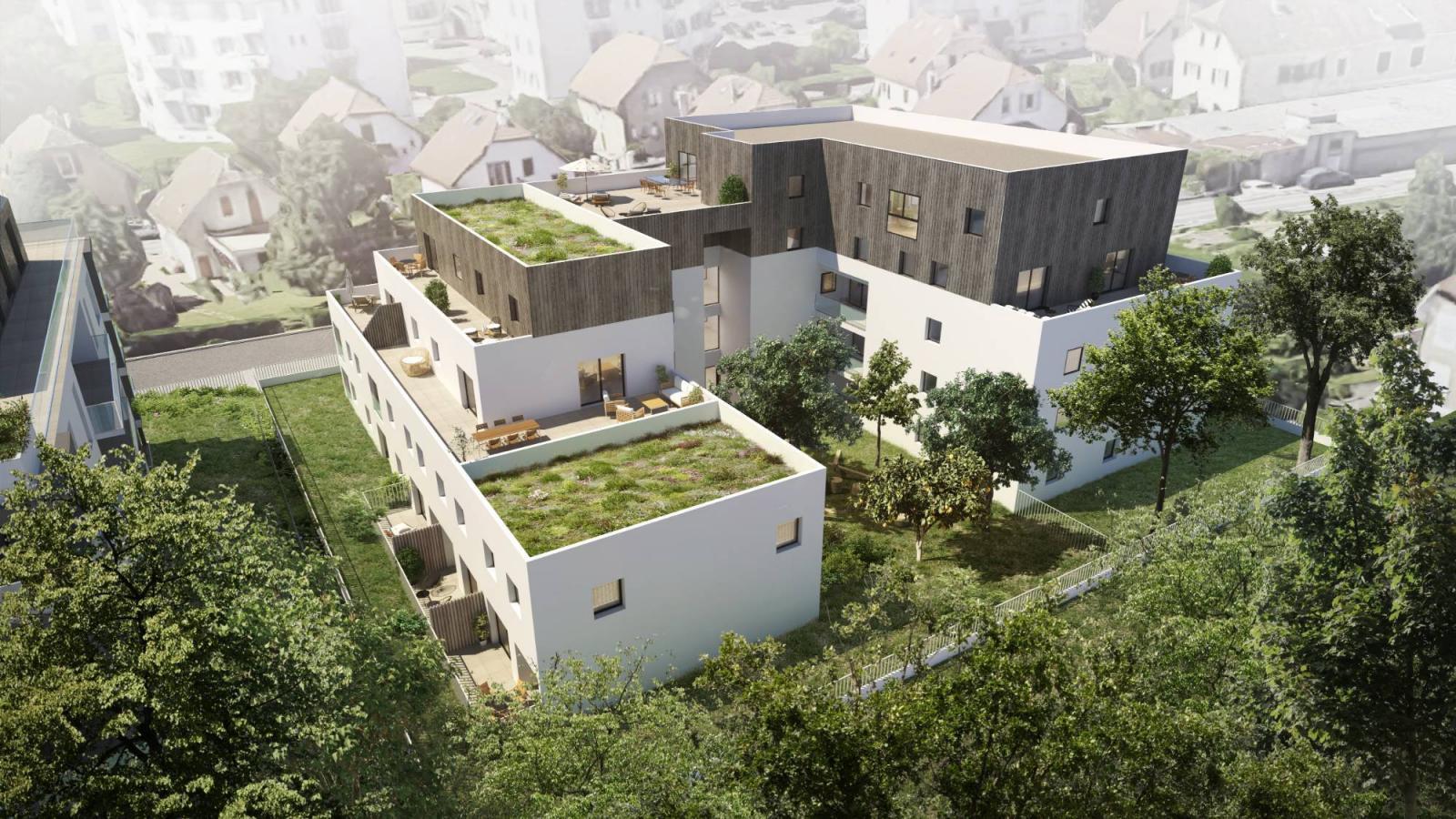 Programme immobilier Ville La Grand (74100) Proche Frontière Suisse VAL75
