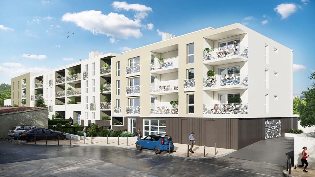 Programme immobilier URB7 appartement à La Seyne Sur Mer (83500) Au Coeur de Porte Marine