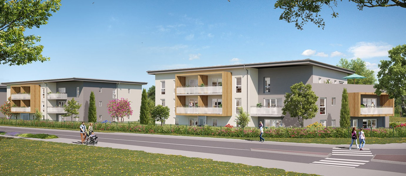 Programme immobilier Thonon les Bains (74200) À 5 min du centre-ville ICA13