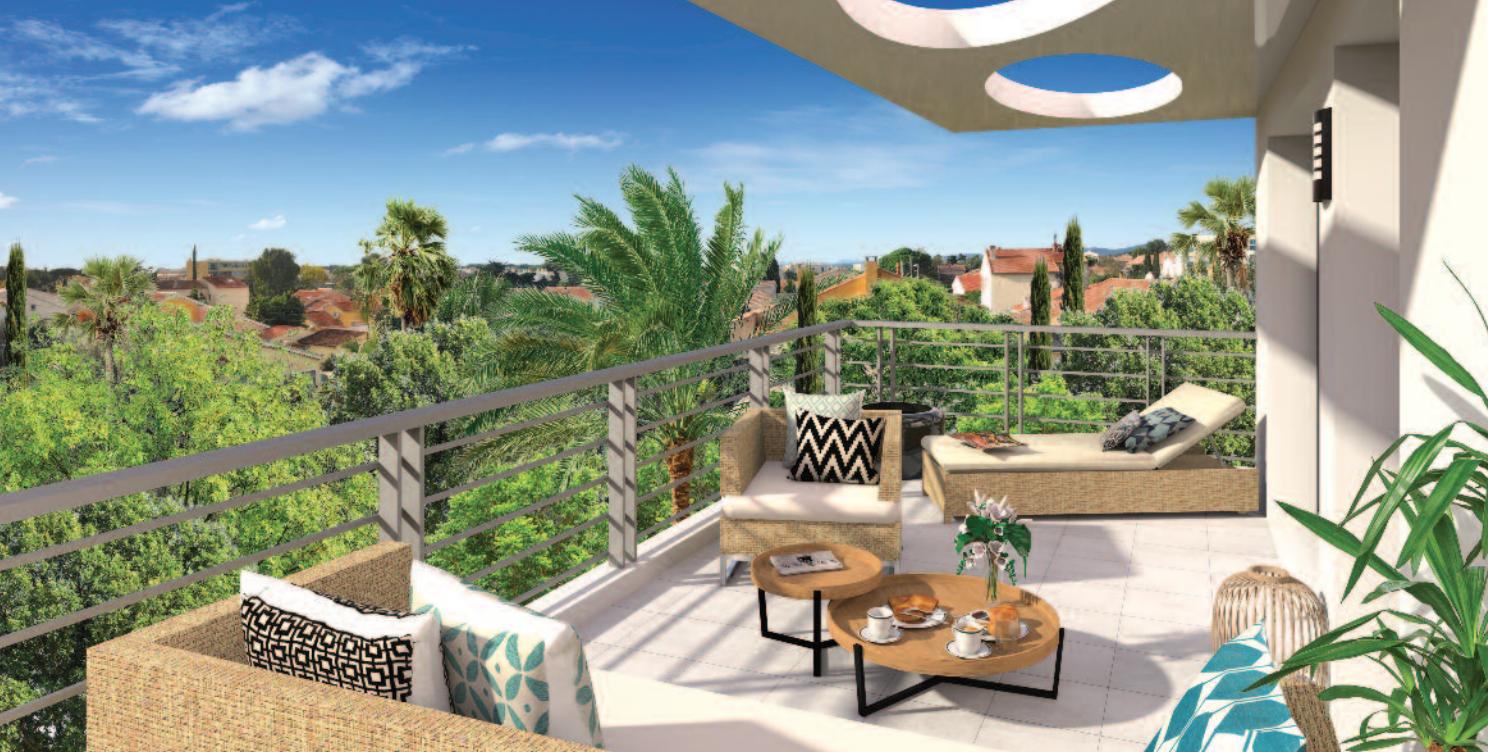 Programme immobilier Six Fours Les Plages (83140) Quartier résidentiel URB9