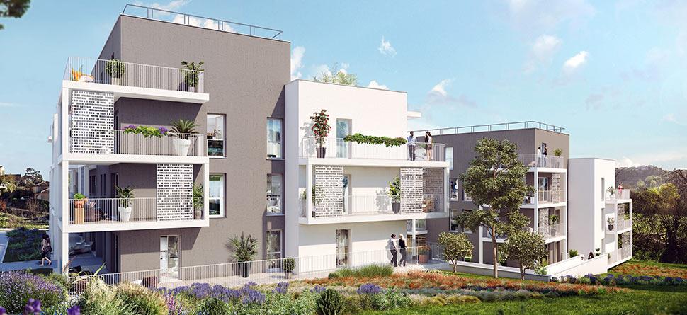 Programme immobilier VAL98 appartement à Marseille 13ème (13013) Quartier de La Croix Rouge