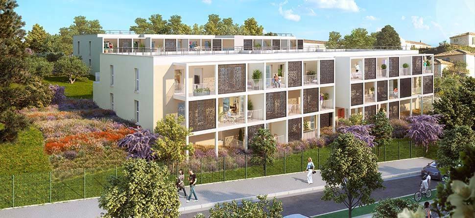 Programme immobilier Marseille 13ème (13013) Quartier de La Croix Rouge PI16