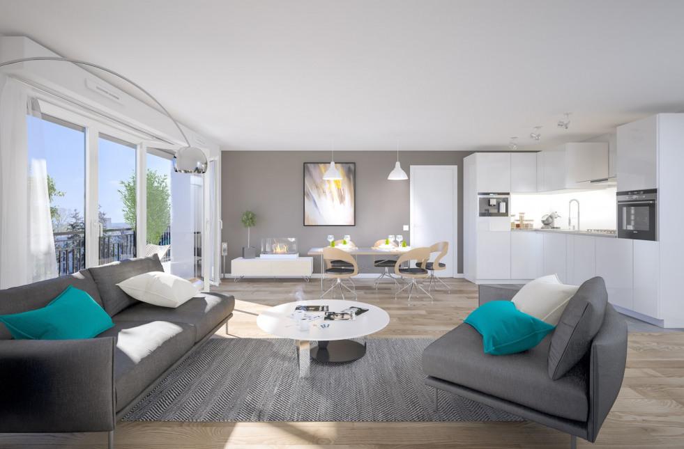 Programme immobilier NP17 appartement à Corbas (69960) Coeur de Ville