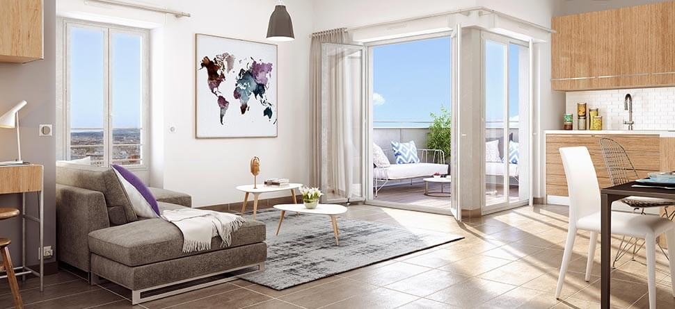 Programme immobilier Villeurbanne (69100) Gratte Ciel VAL10