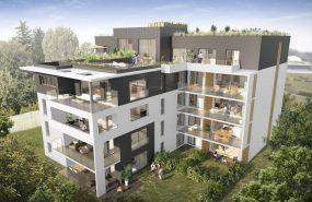 Programme immobilier AJA3 appartement à Ferney-Voltaire (01210) Centre Ville