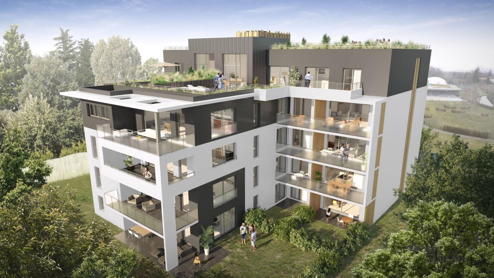 Programme immobilier Ferney-Voltaire (01210) Aux Portes de Genève AJA3