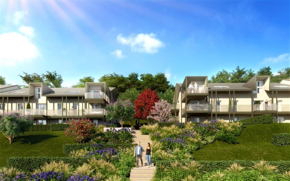 Programme immobilier Divonne-Les-Bains (01220) Dans un Parc Luxuriant OGI28