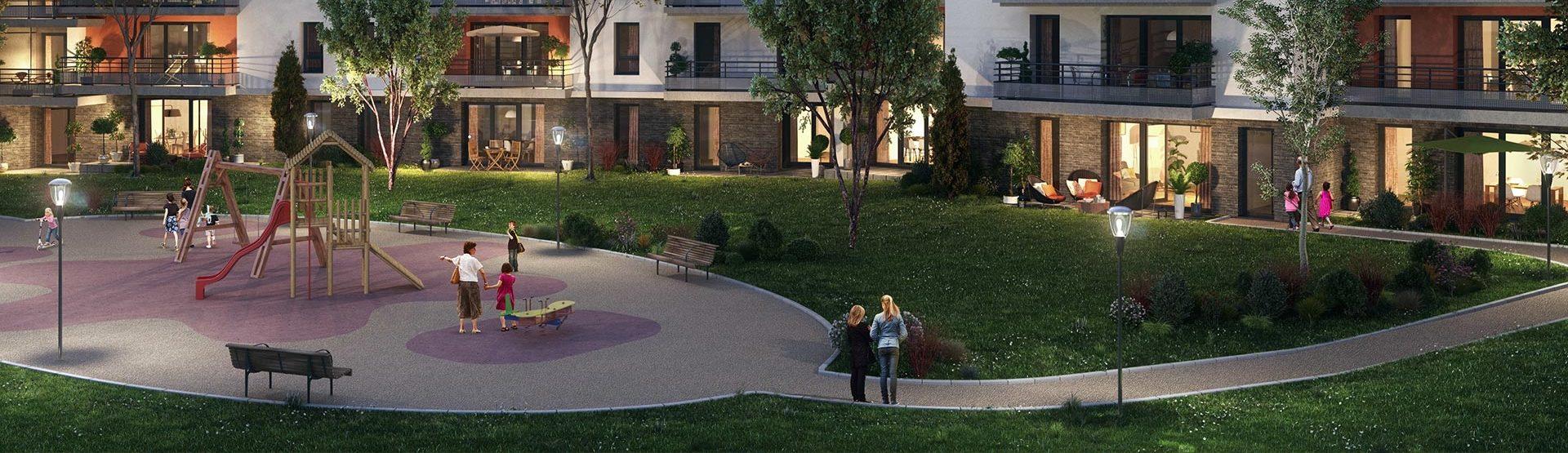 Programme immobilier EUR4 appartement à Cessy (01170) Centre de Cessy