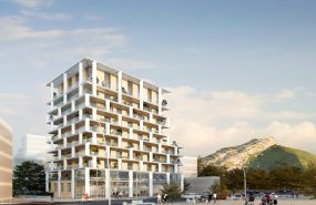 Programme immobilier EIF2 appartement à Grenoble (38000) Situé dans le quartier Berriat