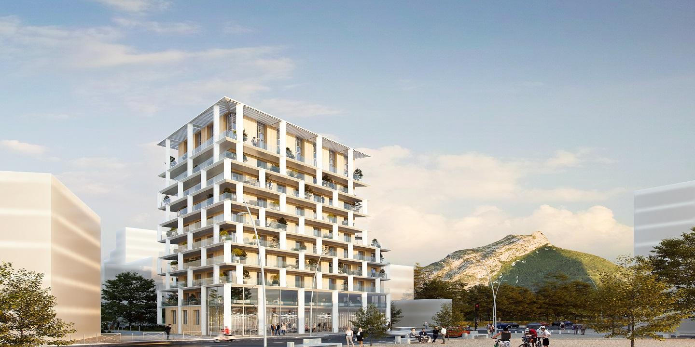 Programme immobilier VAL47 appartement à Grenoble (38000) Eco-Cité de la Presqu'Île