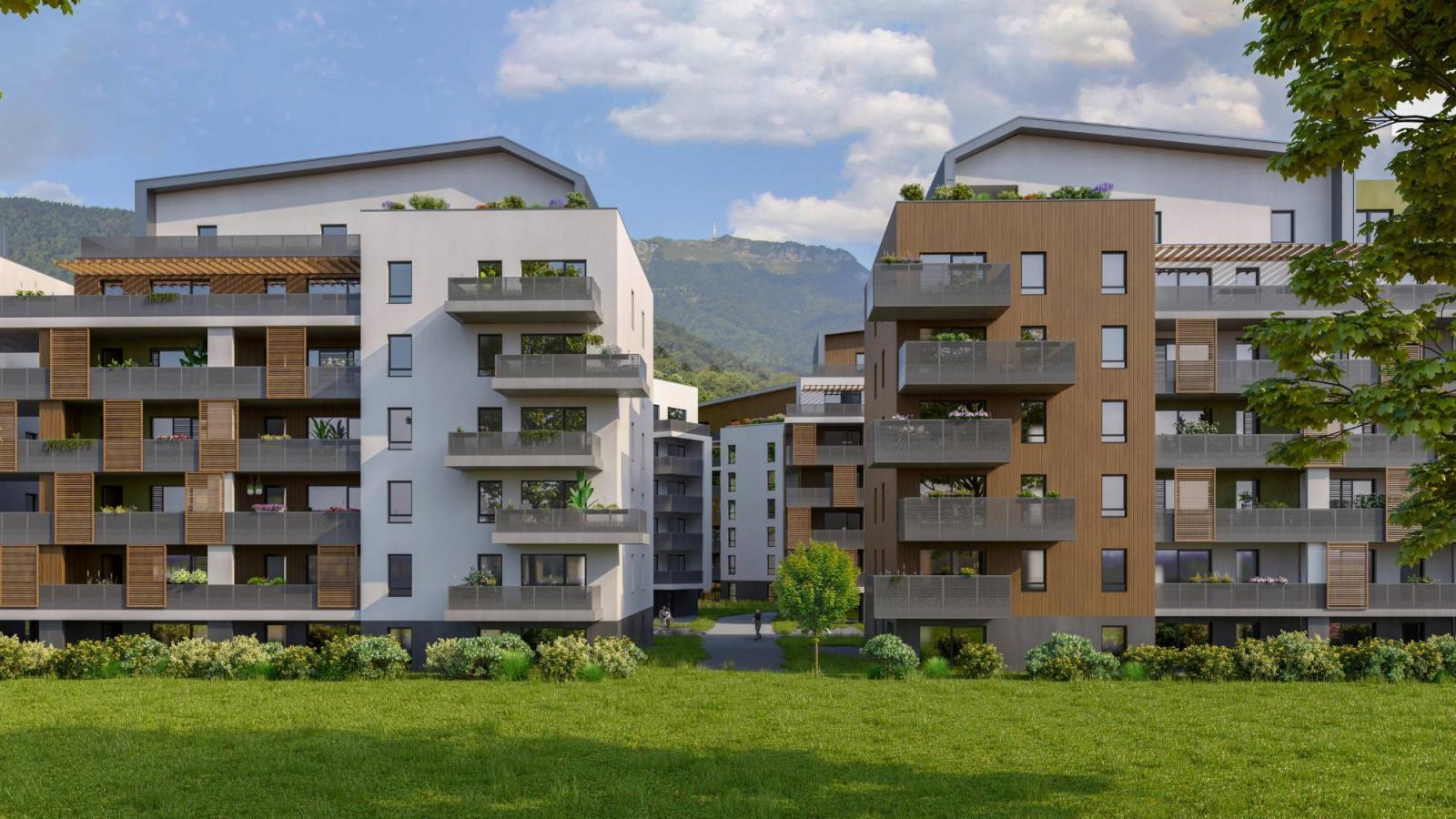 Programme immobilier VAL45 appartement à Gex (01170) Proche Centre Ville
