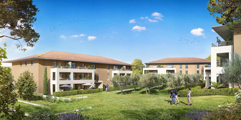 Programme immobilier Aix-En-Provence (13100) Quartier de Galice OGI32