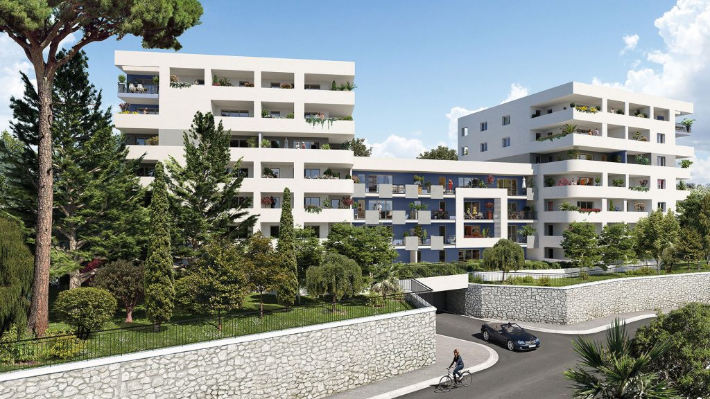 Programme immobilier LNC11 appartement à Marseille 13ème (13013) Saint-Jean-Le-désert