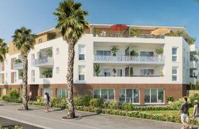 Programme immobilier SP7 appartement à Hyères (83400) De nombreux espaces verts