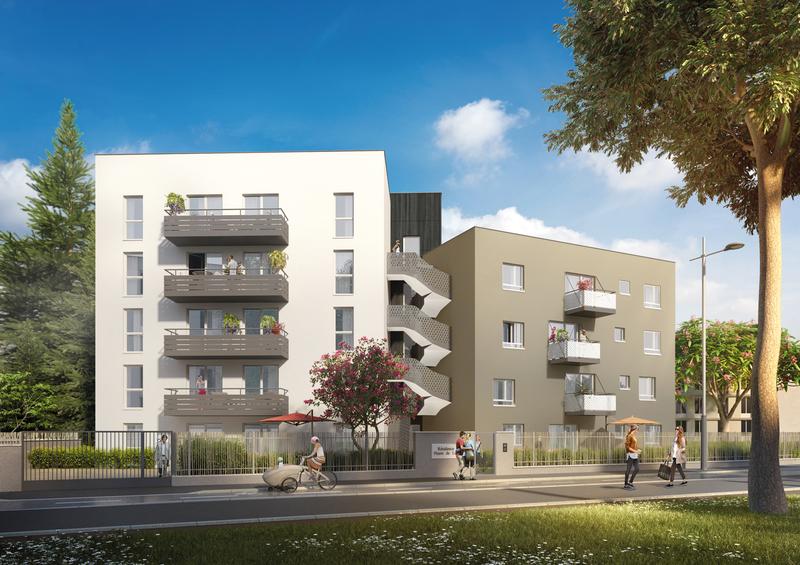 Programme immobilier Tassin-la-Demi-Lune (69160) Nichée au centre de Tassin MIP1