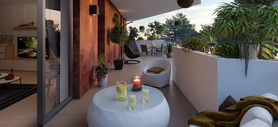 Programme immobilier VAL51 appartement à Aix-Les-Bains (73100) Proche Parc de Verdure
