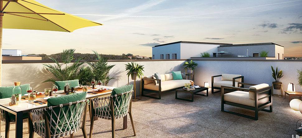 Programme immobilier VAL41 appartement à Brignais (69530) PROCHE CENTRE VILLE