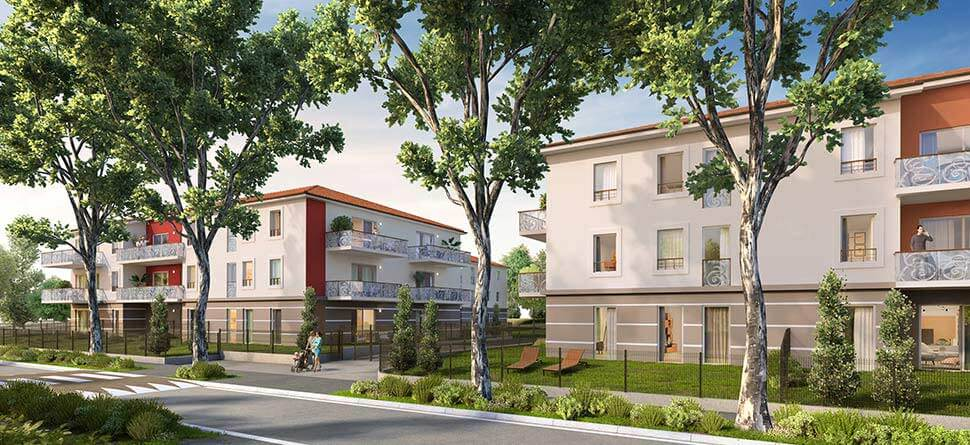 Programme immobilier VAL44 appartement à Miribel (01700) Quarter des Echets