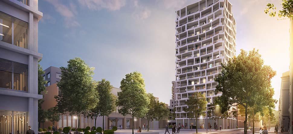 Programme immobilier Lyon 2ème (69002) Confluence OGI4