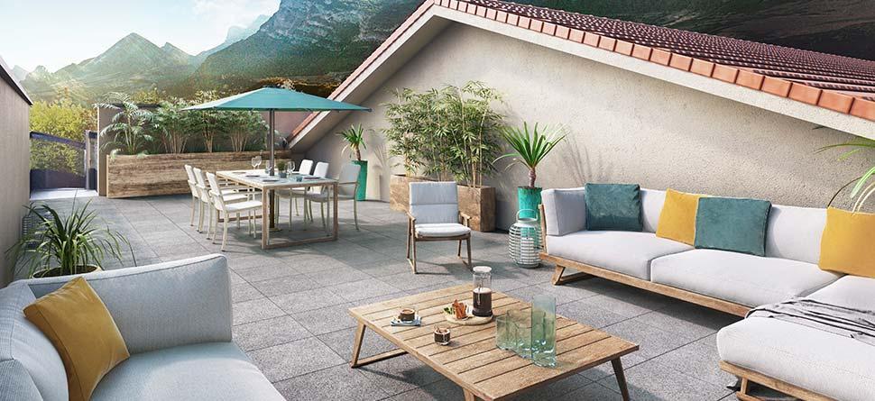 Programme immobilier VAL46 appartement à Claix (38640) Centre de Claix