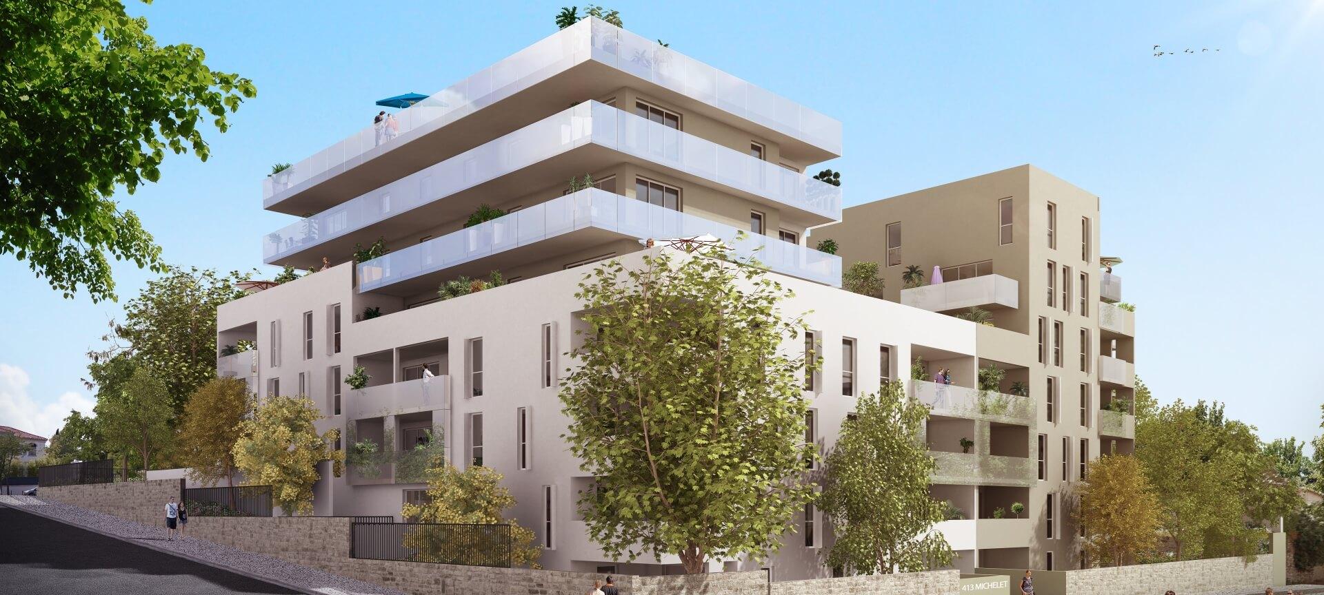 Programme immobilier Marseille 9ème (13009) 9EME ARRONDISSEMENT PI17