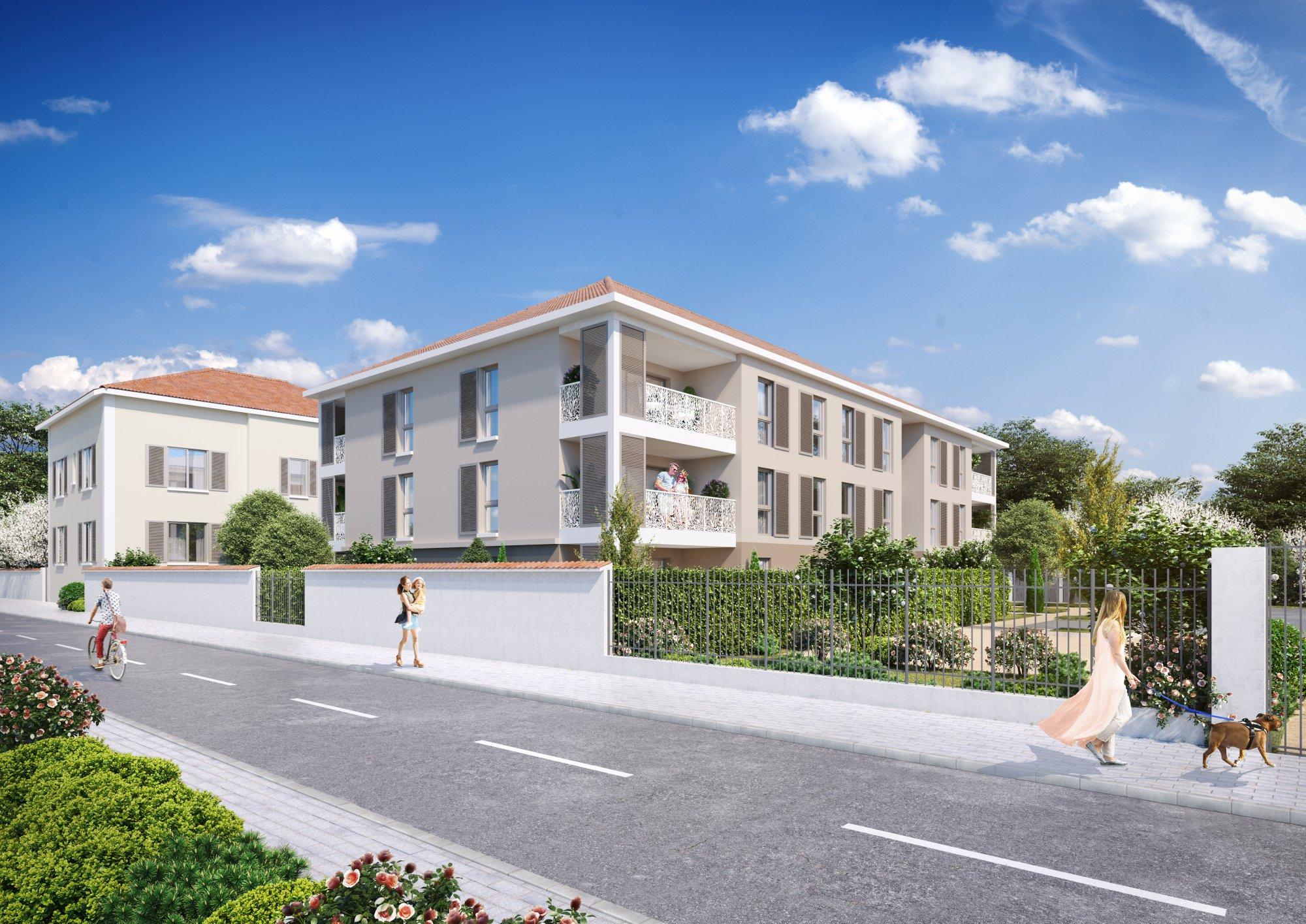 Programme immobilier EDO17 appartement à Miribel (01700) Dans le joli hameau du Mas Rillier