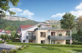Programme immobilier EDO12 appartement à Bonneville (74130) Résidence nichée dans un environnement verdoyant,