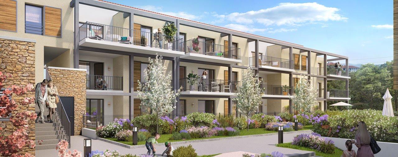 Programme immobilier VIN6 appartement à Aix-En-Provence (13100) Quartier Saint-Anne