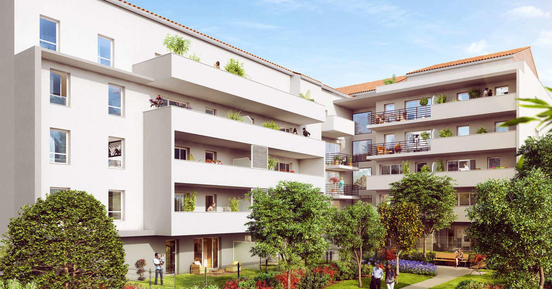 Programme immobilier CRA12 appartement à Marseille 10ème (13010) Quartier de La Timone