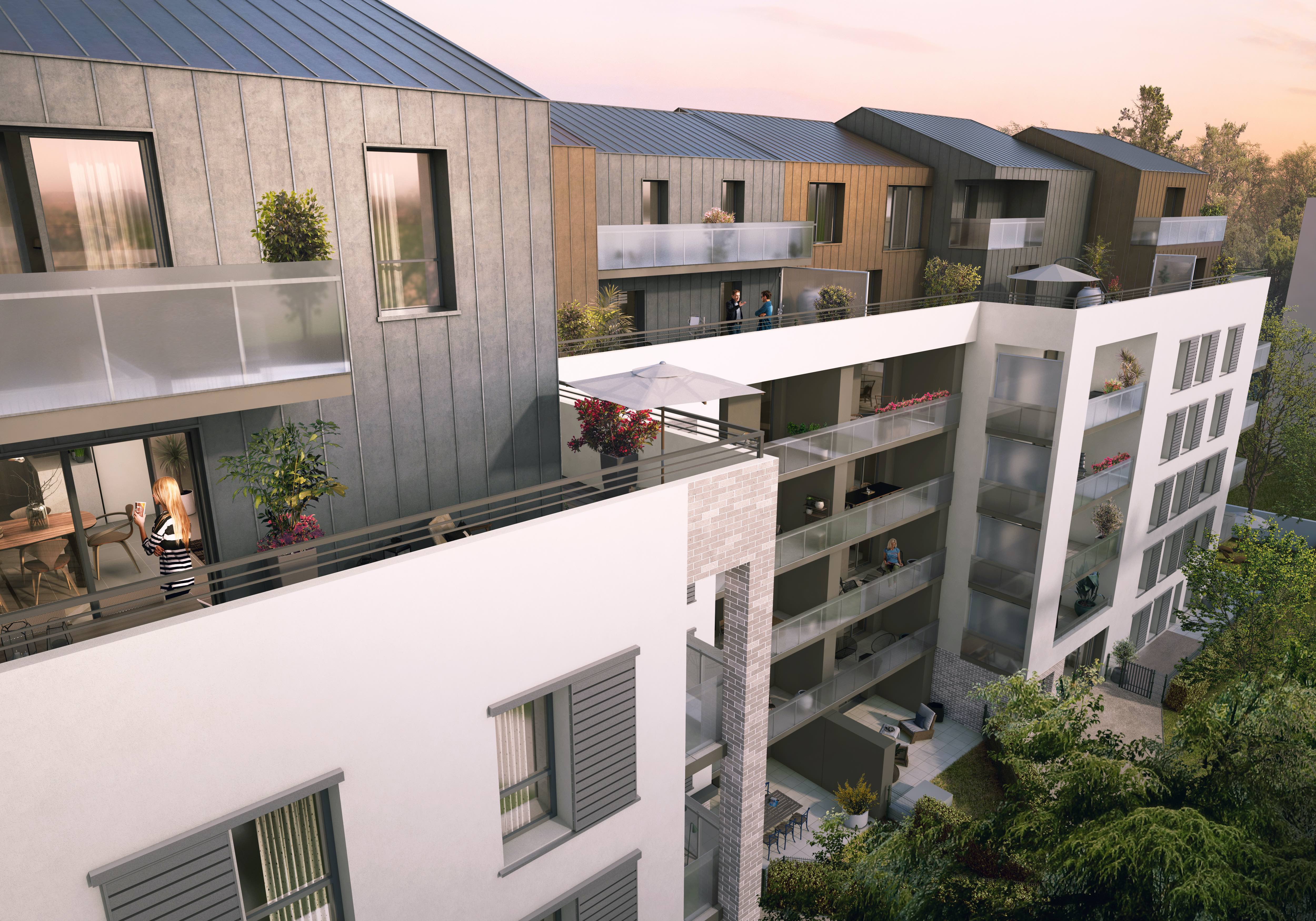 Programme immobilier Villeurbanne (69100) Villeurbanne Est NP10