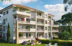 Programme immobilier OGI12 appartement à Aix-En-Provence (13100) À 900 m du centre-ville historique