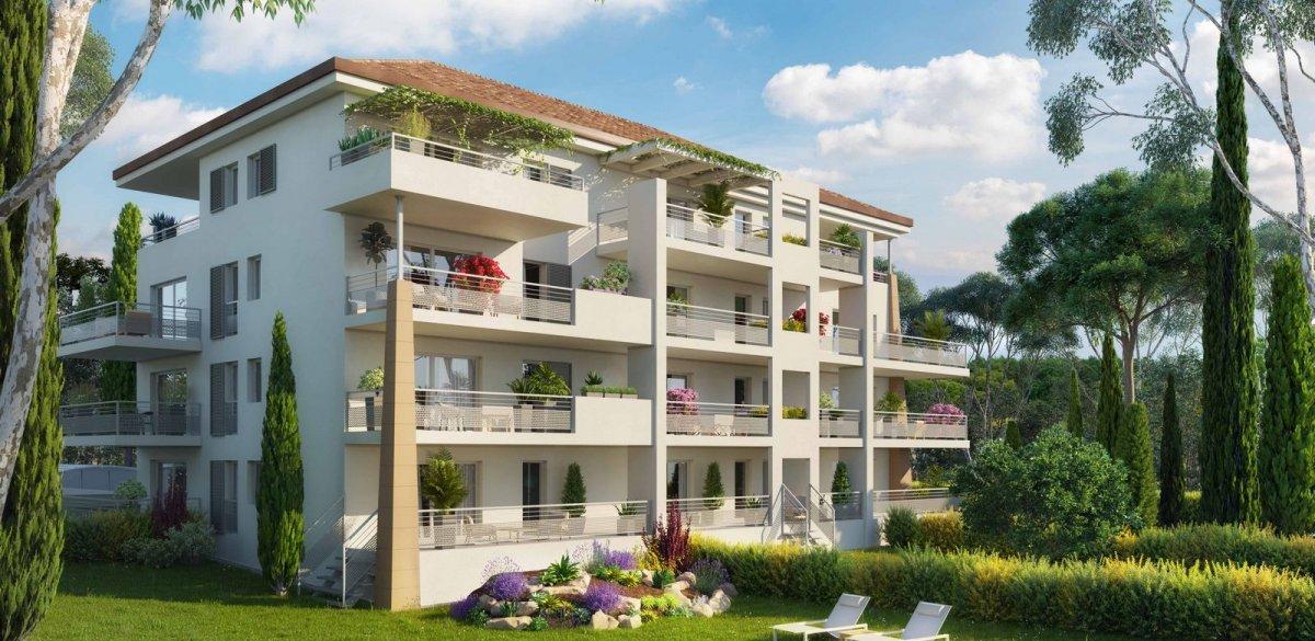 Programme immobilier Aix-En-Provence (13100) À 900 m du centre-ville historique QUA1