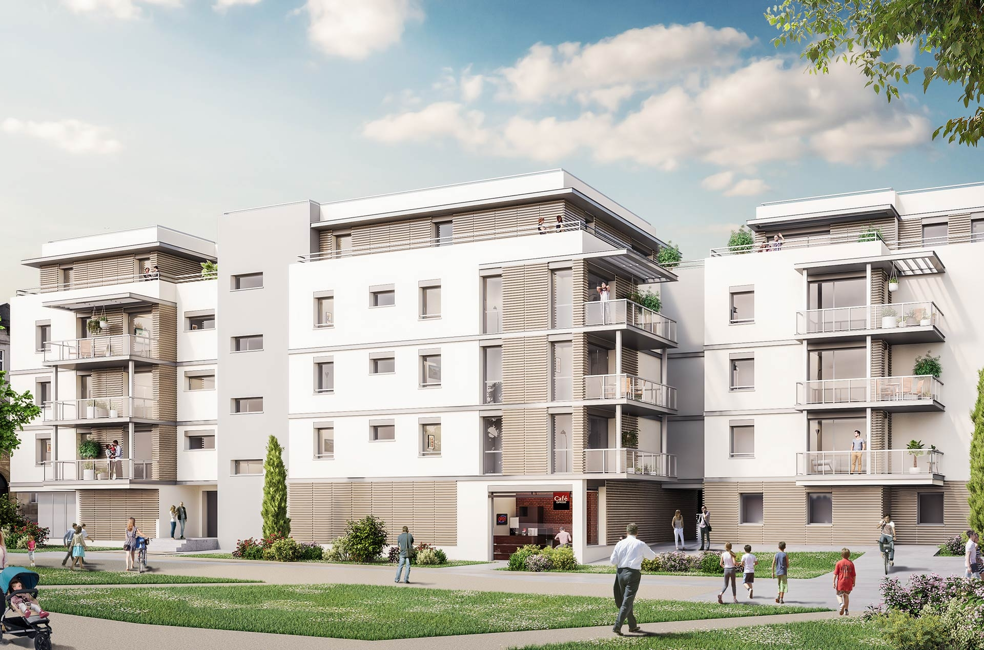 Programme immobilier EUR11 appartement à Saint-Alban-Leysse (73230) Au cœur d'un village charmant
