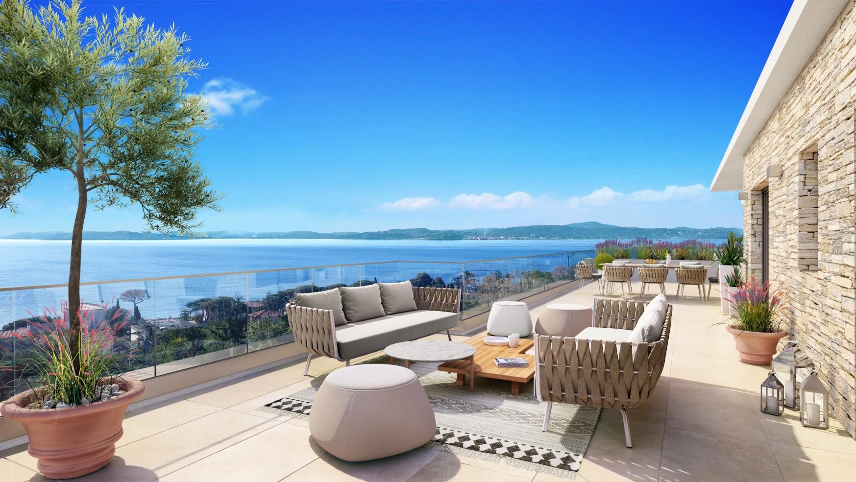Programme immobilier Sainte Maxime (83120) Résidence de luxe  PI23