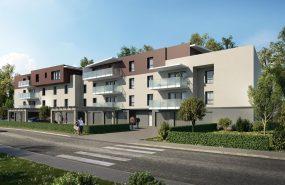 Programme immobilier EUR12 appartement à Gilly-Sur-Isère (73200) Vue dégagée sur les massifs