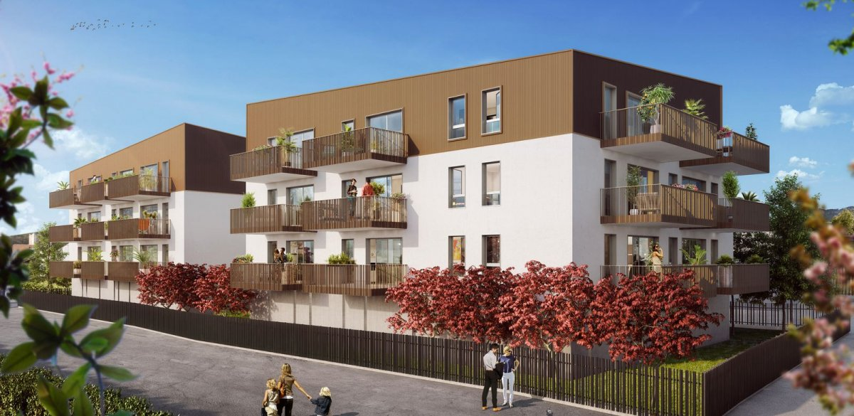 Programme immobilier OGI24 appartement à Aix-Les-Bains (73100) Situation idéale entre ville et lac