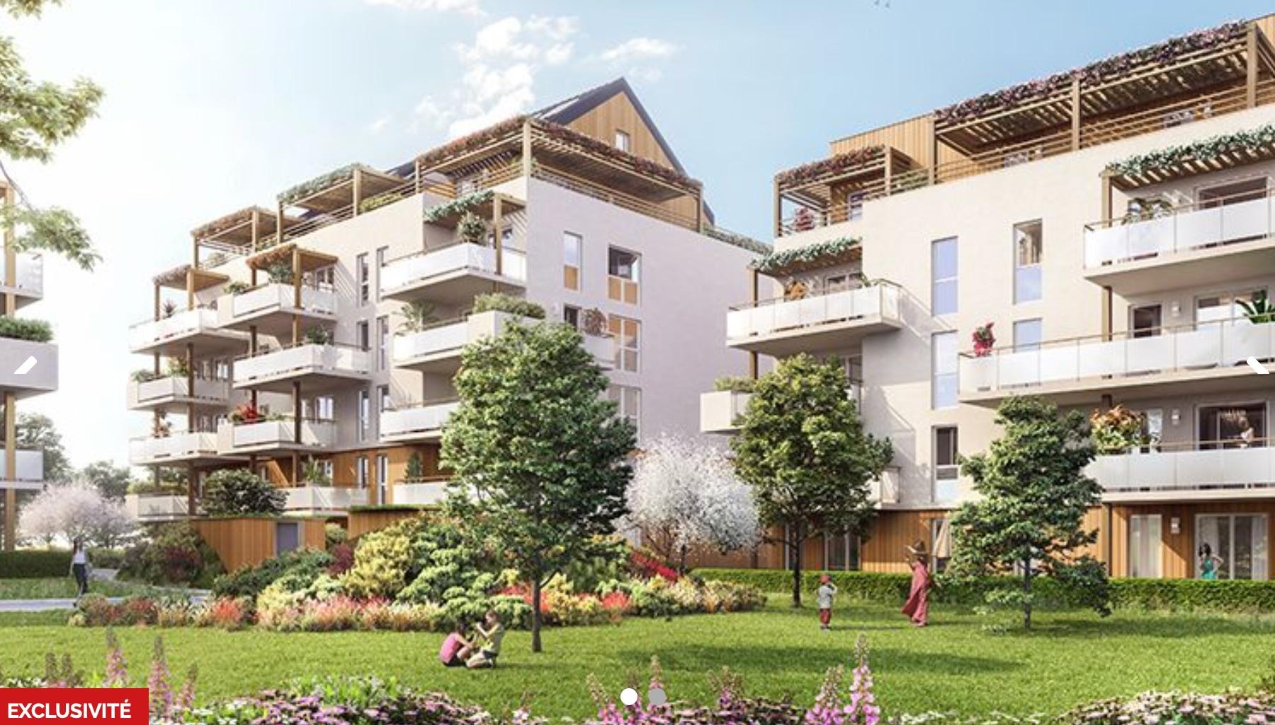 Programme immobilier PI8 appartement à Rumilly (74150) Résidence nichée dans un cocon verdoyant