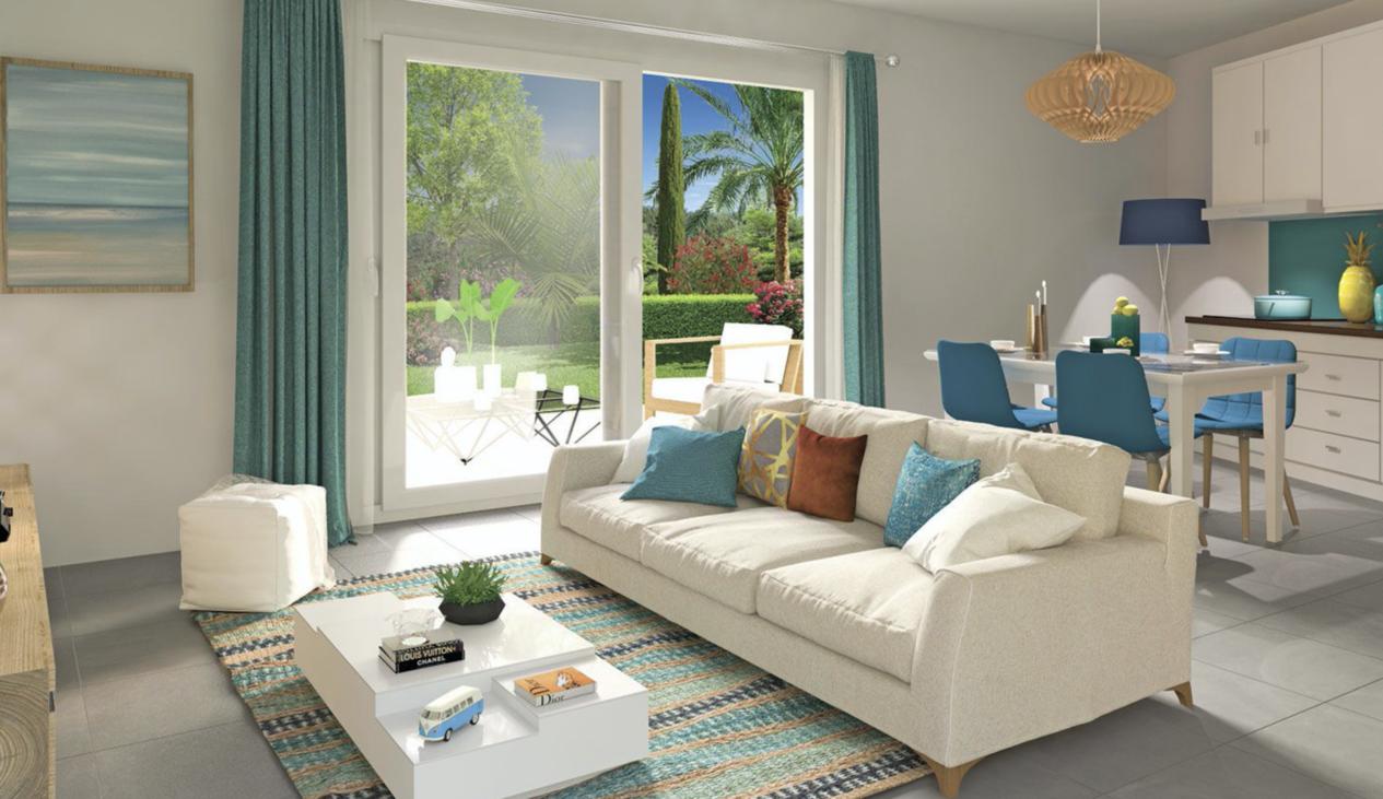 Programme immobilier EDO8 appartement à Cavalaire Sur Mer (83240) Accès facile jusqu'au centre ville