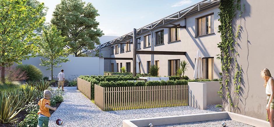 Programme immobilier Villefranche-sur-Saône (69400) Aux abords du centre CO9