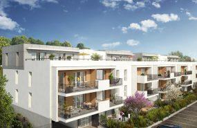 Programme immobilier CRA15 appartement à La Bouilladisse (13720) Bel espace boisé classé