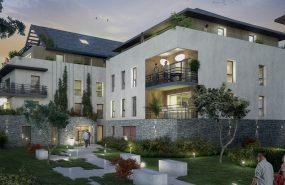 Programme immobilier EQ7 appartement à Divonne-Les-Bains (01220) Au coeur du centre-ville