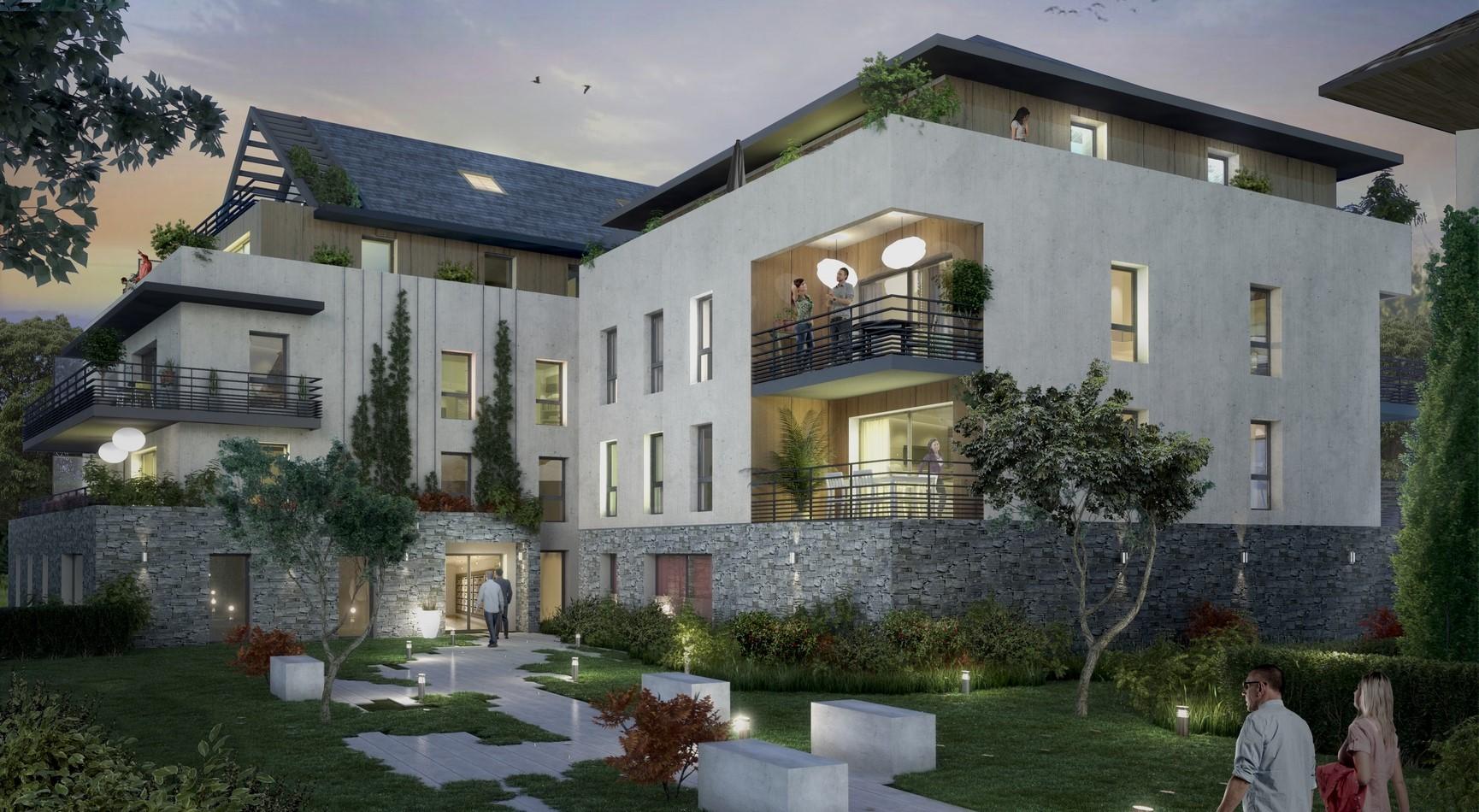 Programme immobilier Divonne-Les-Bains (01220) Au coeur du centre-ville OGI28