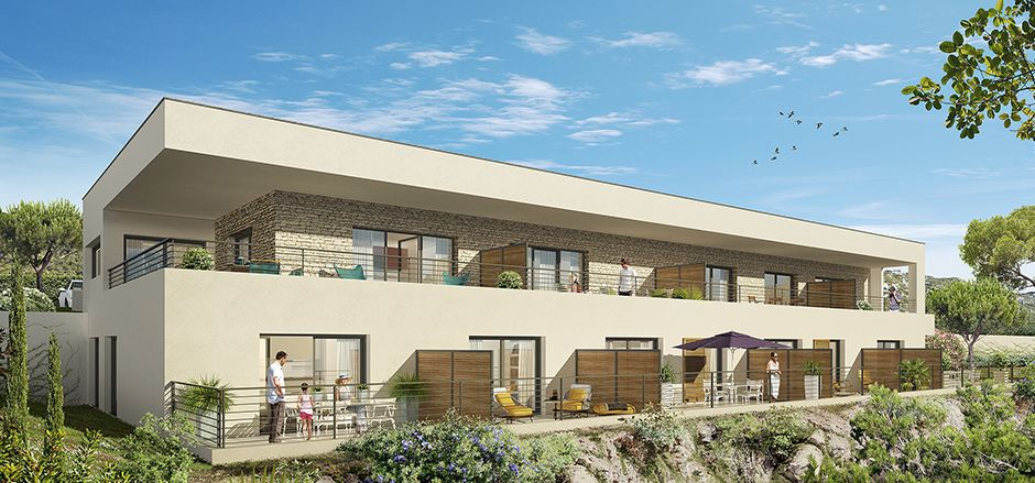 Programme immobilier PI23 appartement à Sainte Maxime (83120) Proche Centre Ville