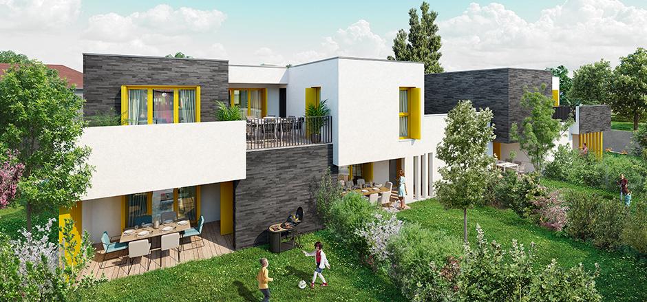 Programme immobilier Sainte-Foy-les-Lyon (69110) À deux pas de Lyon ICA21