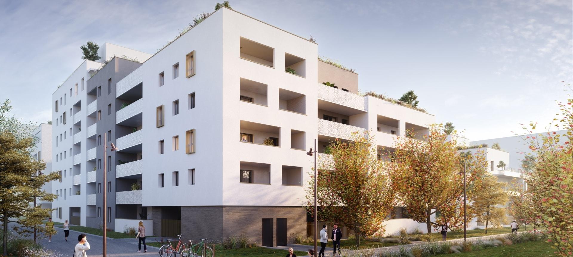 Programme immobilier EDE1 appartement à Cranves Sales (74380) Proche Centre Ville