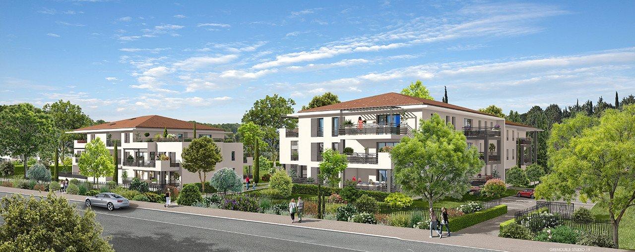 Programme immobilier Ventabren (13122) Quartier l'Héritière ALT70