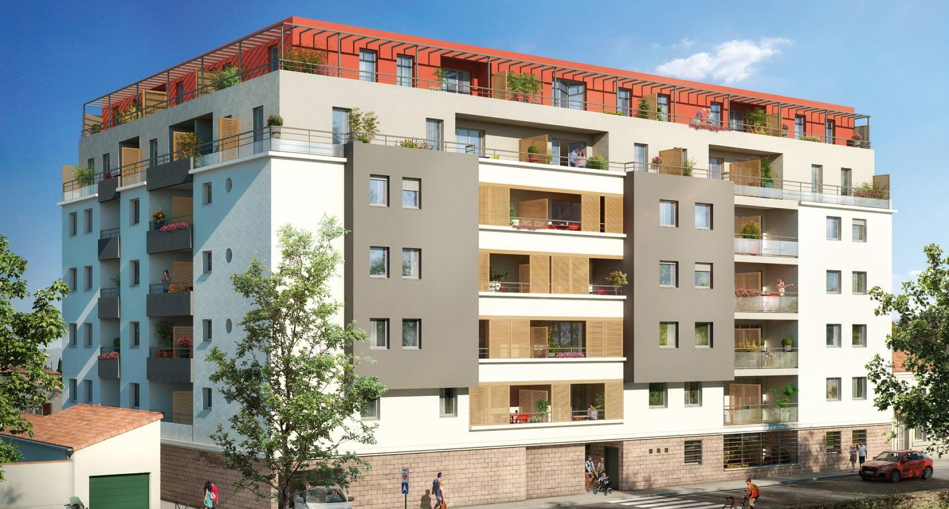 Programme immobilier CRA13 appartement à Marseille 10ème (13010) La Timone