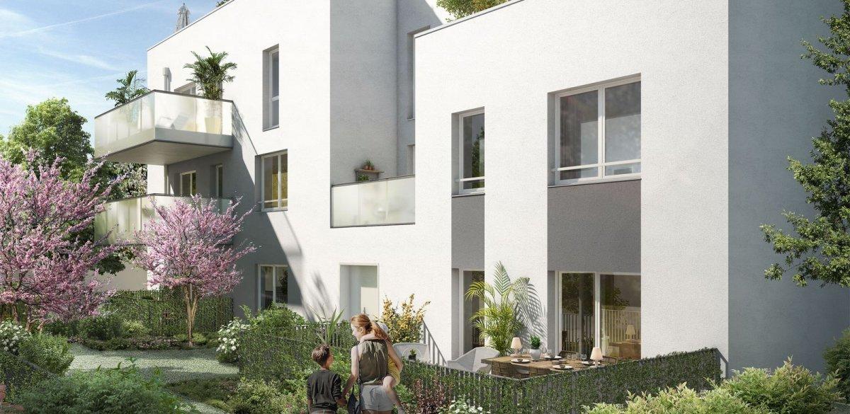 Programme immobilier OGI20 appartement à Villeurbanne (69100) Gratte Ciel