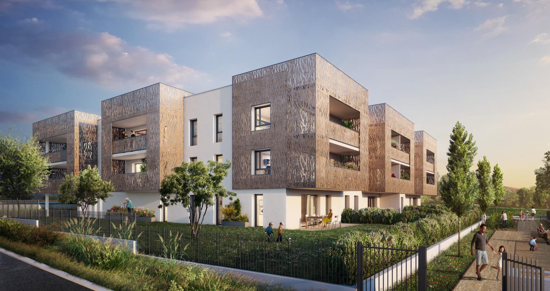 Programme immobilier Arnas (69400) Au cœur d'un village de charme  LNC35